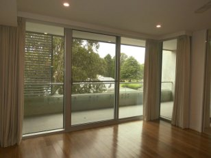 Living Room to Balcony of 25/43 Constitution Avenue, Reid, ACT 2612