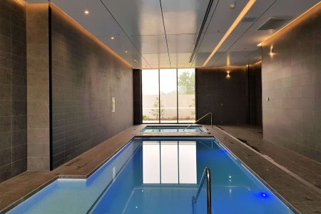 Indoor Pool & Spa at 145/15 Irving Street, Phillip, ACT 2606